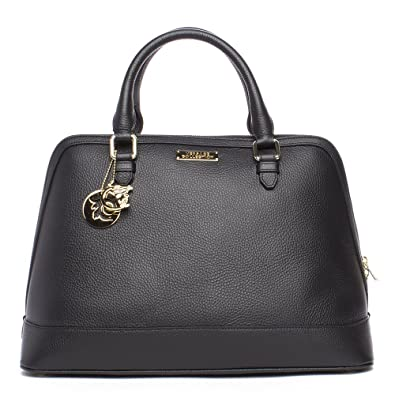 4f5693149787 Image Unavailable. Image not available for. Colour  Versace Collections  Women Leather Top Handle Handbag ...
