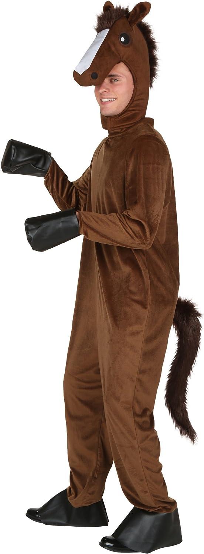 Adulto disfraz de caballo: Amazon.es: Juguetes y juegos