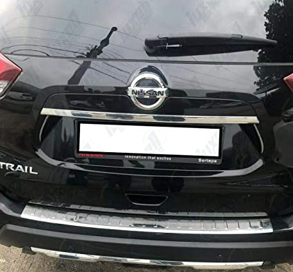 Protector de parachoques trasero cromado para X-Trail T32 2018+