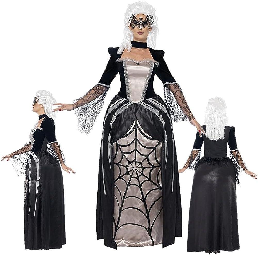 Smiffys Disfraz Halloween Baronessa, Vedova Negra * 24578 Negro L ...
