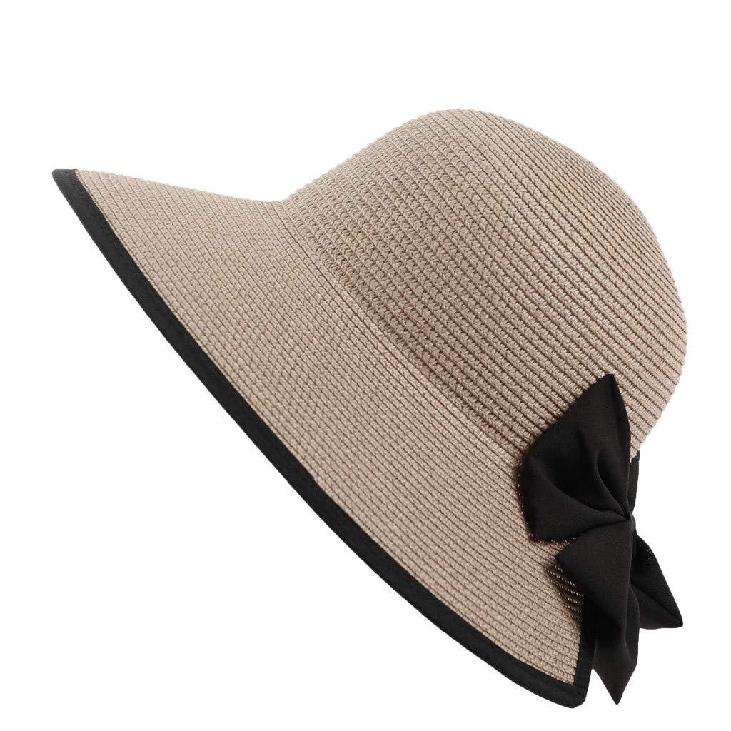 Longra💞 Sombrero para Mujer de, Ligero y Plegable, Plegable y ...