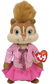 Amazon.com  TY Beanie Baby Jeanette - Alvin and the Chipmunks  Toys ... 43cd755ea621