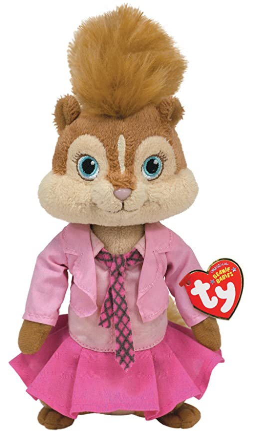 Ty peluche - Alvin and the Chipmunks peluche - Brittany 17.cm