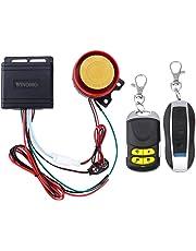 Sistema de seguridad antirrobo con alarma y mando a distancia para motocicletas, 12 V,