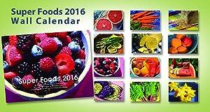 2016 Super Foods Wall Calendar