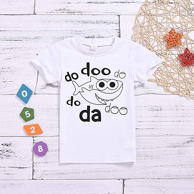 Neugeborenes Baby scherzt Jungen-M/ädchen-Zahl-Karikatur Kurzarm T-Shirt T Tops Kleidung Kurzarm T-Shirt Sport Bluse Tee Shirt HEETEY Kinder T-Shirt Sommer Oberteile