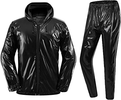 XINSHUN Sweat Sauna Suits Weight Loss Gym Exercise for Men and Women