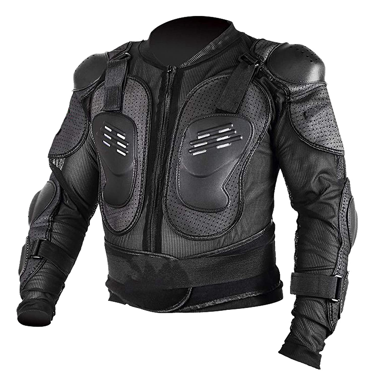 ZXTDR Motorcycle Full Body Armor Jacket Breast Motocross Dirt Bike ATV (XS) 1
