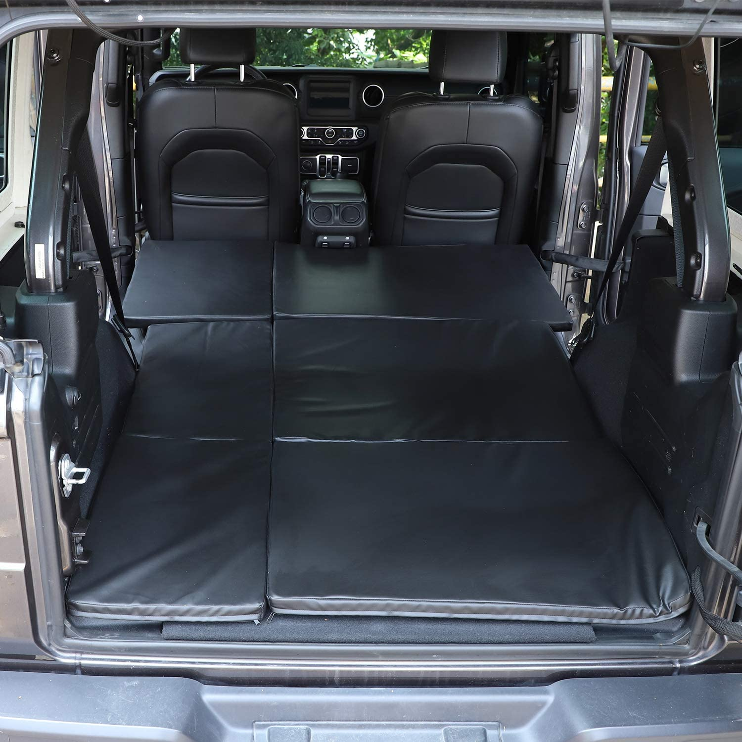 Folding Travel Camping Back Seat Bed Mattress for 2018-2020 Jeep Wrangler JL /& Unlimited 4 Door JeCar for Jeep Sleeping Pad Mat
