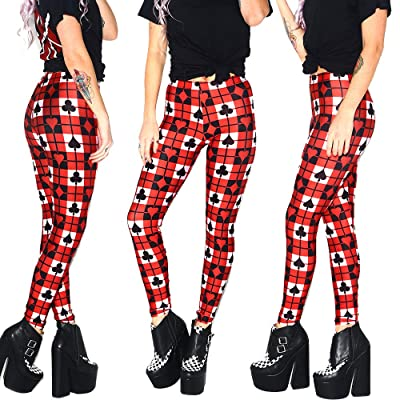 BOMBAX 3D Patterned Slim Casual Workout Leggings Yoga Gym TightsPants for Women