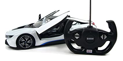 BMW I8 RC Remote Control Sport Car Model, 1/14 Scale , Lights On