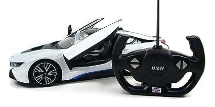 BMW I8 RC Remote Control Sport Car Model, 1/14 Scale , Lights On