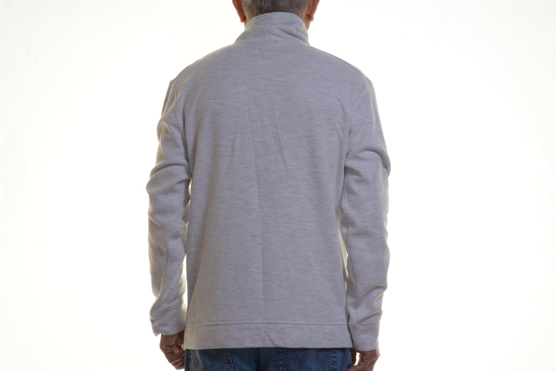 INC International Concepts Jordan Shawl Collar Jacket Cloud Grey Heather Size L