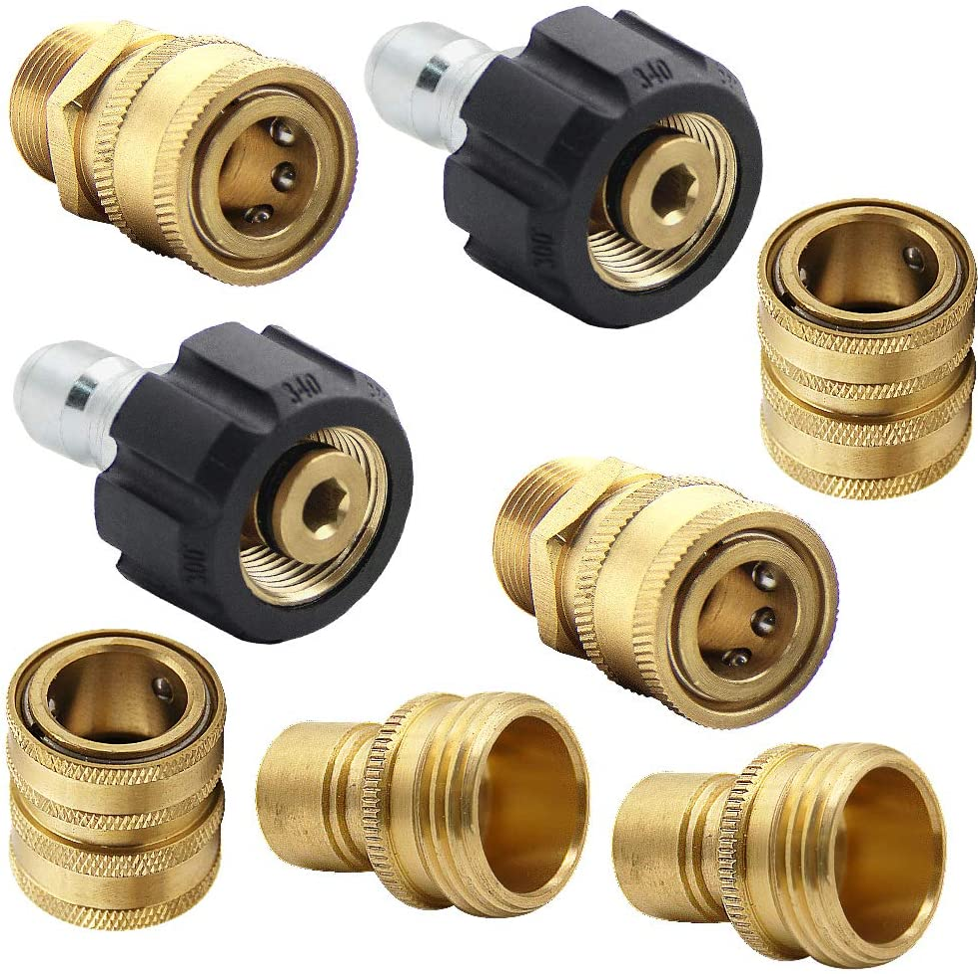 KARCHER Quick Connect Adapter Pressure Washer Gun 1//4 inch Quick Release M22