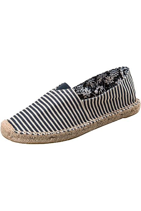 PASOK Men's Canvas Espadrilles Loafers