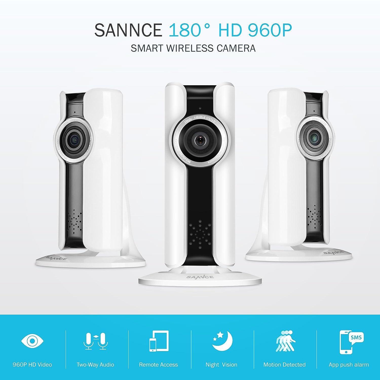 SANNCE 960p IPカメラ B074Q7VGPG 1x960P IP Cam