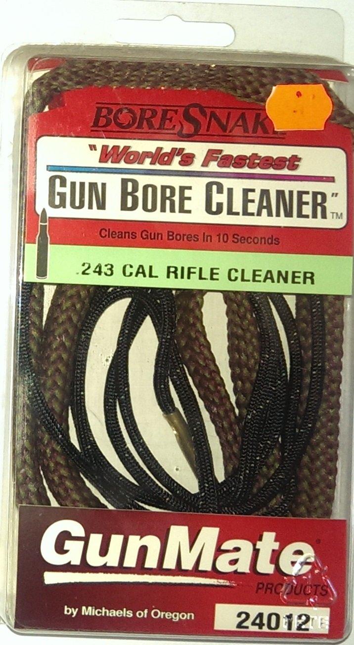 Gunmate Bore Snake Gun Bore Cleaner (243CAL) by Gunmate