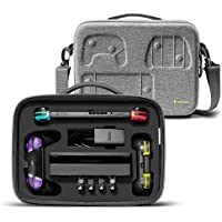 Travel Storage Case for Nintendo Switch, tomtoc Portable Nintendo Switch Protective Carrying Hard Messenger Shoulder Bag…