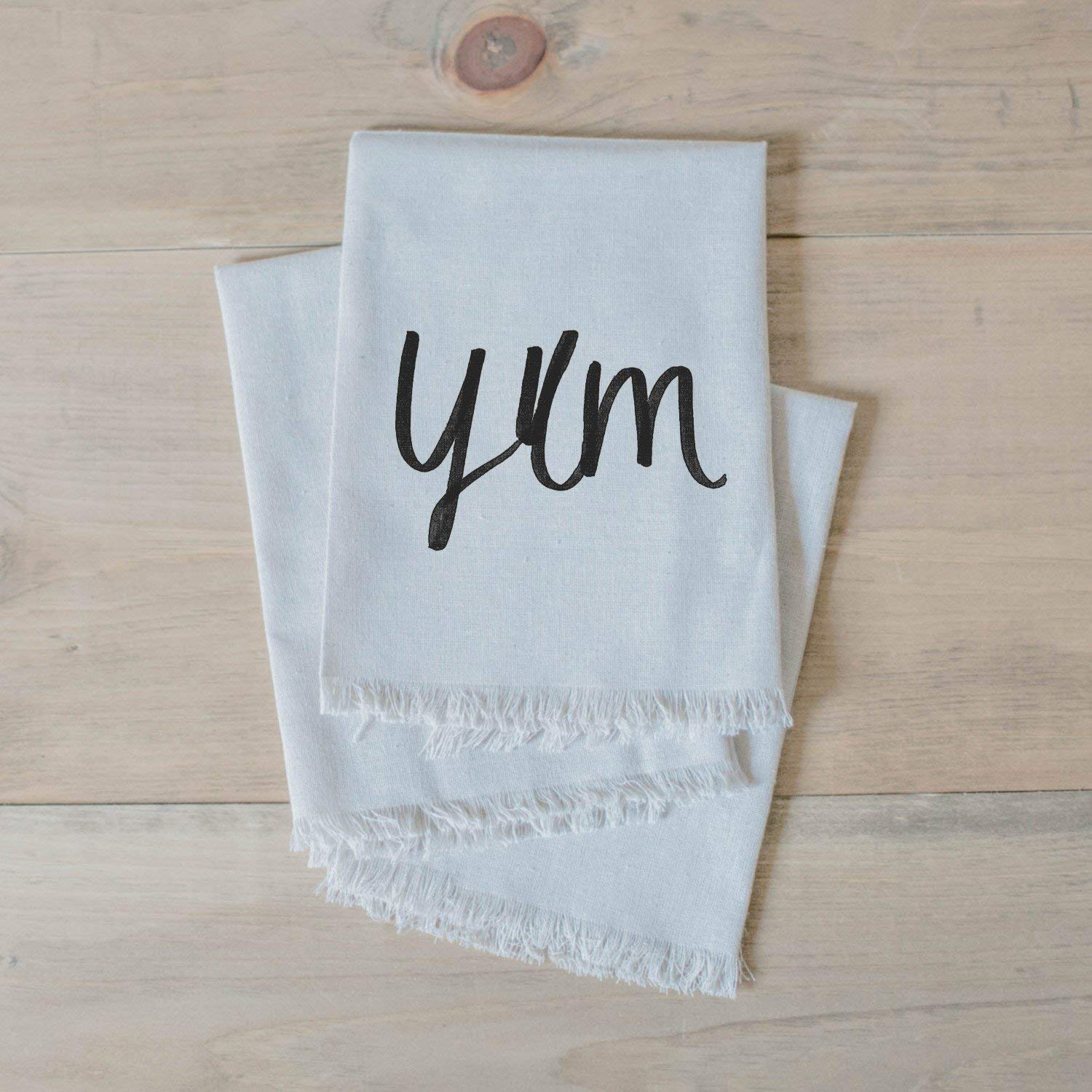 place setting table place setting Handmade in the USA home decor dinner party Yum Napkin Set home decor tableware table setting housewarming gift