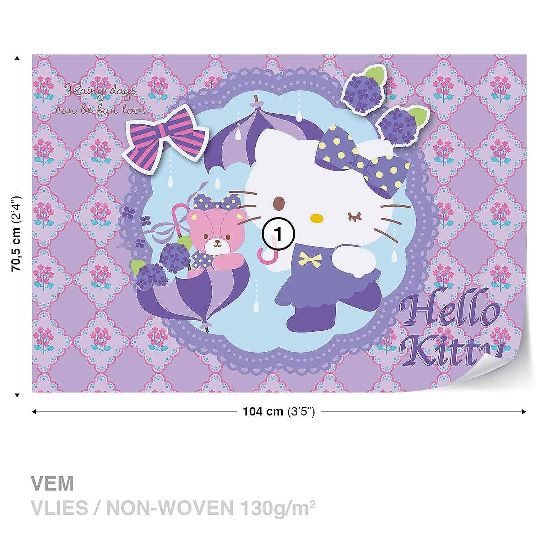 Hello Kitty Wall Mural Photo Wallpaper Room Decor 1805ws