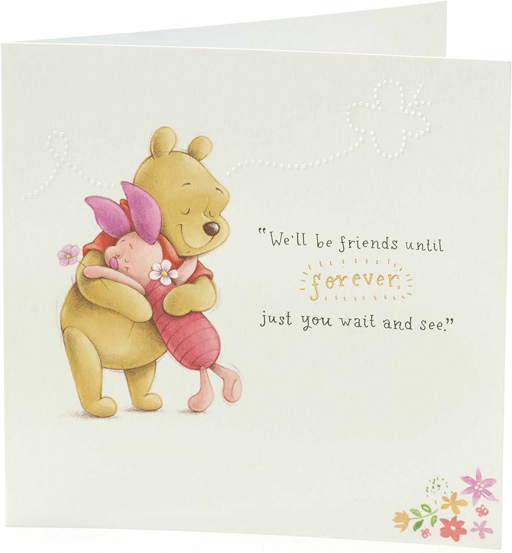 Amazon.com: Disney Winnie The Pooh Tarjeta de cumpleaños con ...