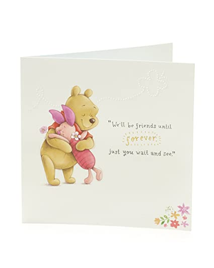 Amazon Disney Winnie The Pooh Birthday Card Featuring Pooh