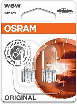 Osram W5W 12V 5W Halogen Lampe PKW Standlicht Auto Kennzeichen Birne 2 Stück
