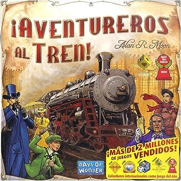 Outletdelocio. Juego de Mesa Aventureros Al Tren. Version Original. Edicion Española: Amazon.es: Juguetes y juegos