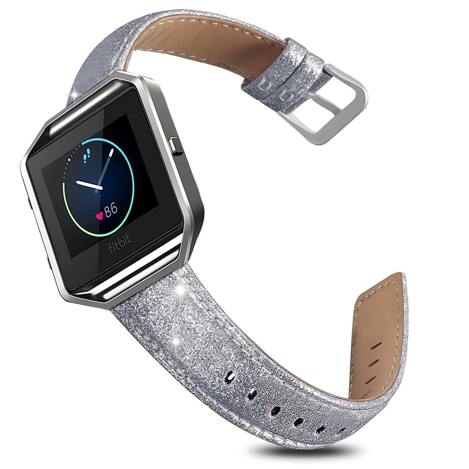 For Fitbit Blaze Replacement Classic Silicone Wristband Bracelet Band Strap CHZ