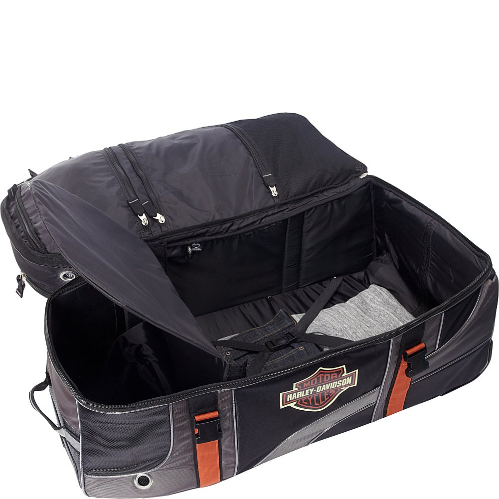 Harley Davidson 33'' Wheeled Equipment Duffel, Black by Harley-Davidson (Image #2)