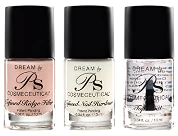 PS Polish Professional Nail Set Treatment 3 Pack Includes
