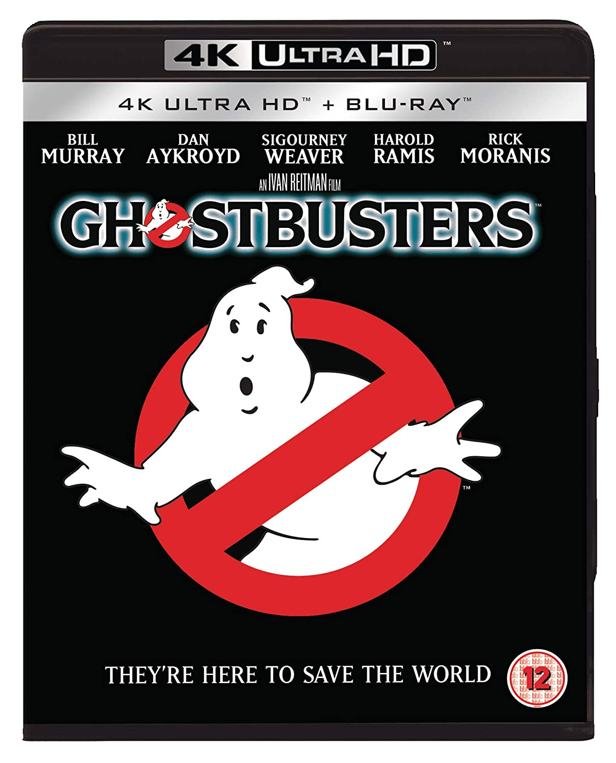 Amazon Com Ghostbusters 1984 Uhd Bd Dlx 2 Discs Blu Ray 4k Blu Ray 2019 Region Free Movies Tv