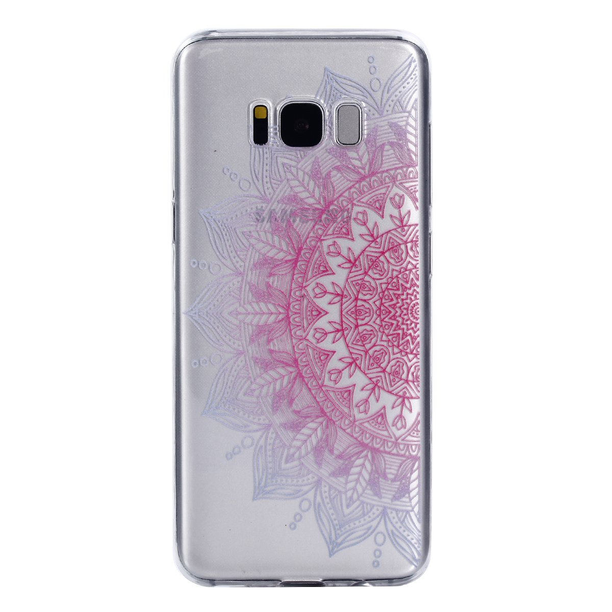 Coque Samsung Galaxy S8, Silicone Bumper souple pour Samsung Galaxy S8, BONROY Coque Samsung Galaxy S8 Housse Transparent Etui en Silicone Soft Clear TPU Case Cover Housse Souple de Protection Coque Ultra Mince Flexible Lisse Couverture Coquille Shell Skin