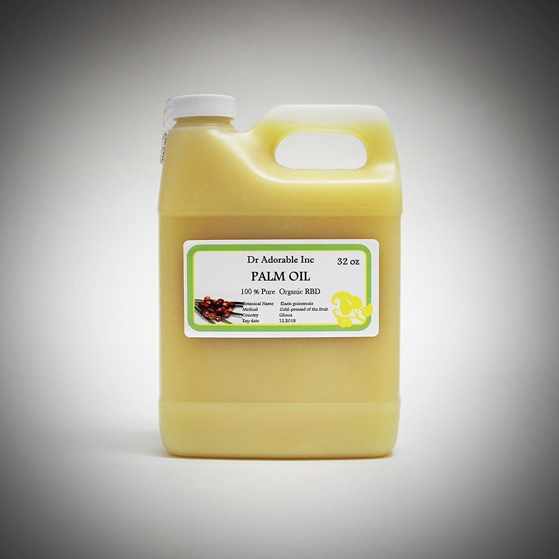 Aceite de palma puro prensado en frío orgánico 32oz/1Quart