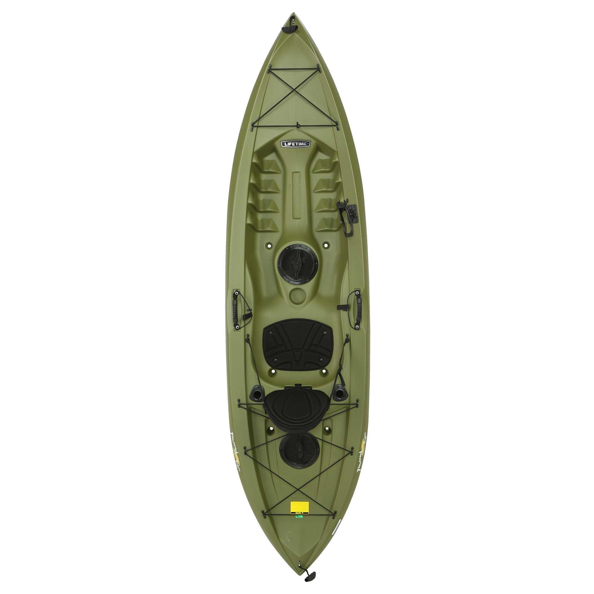 Lifetime Tamarack Angler Sit-On-Top Kayak, Olive, 120''