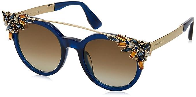 Amazon.com: Jimmy Choo Vivy/S 1un6y (azul – oro con café ...