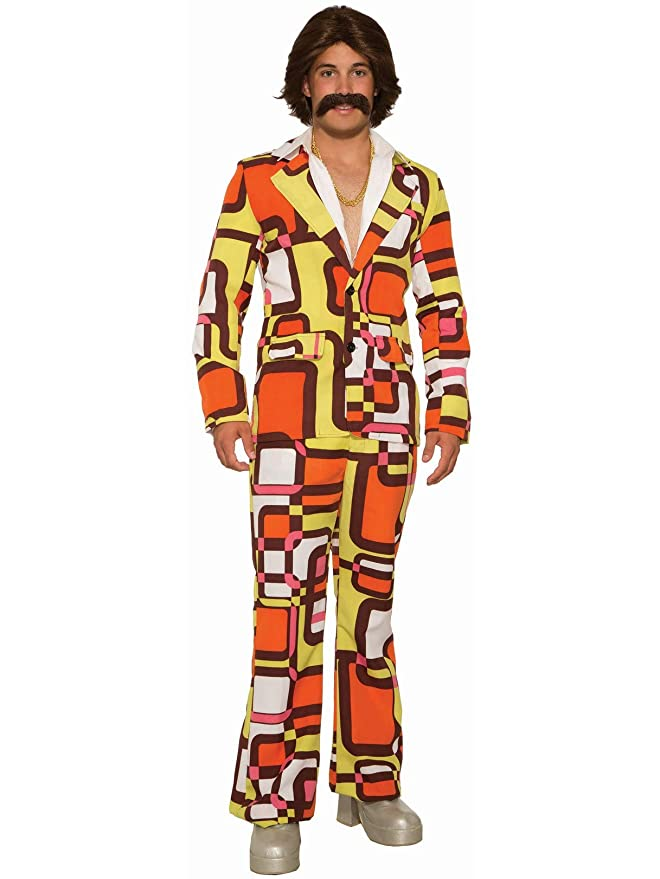 70s Costumes: Disco Costumes, Hippie Outfits Forum Novelties - Leisure Suit $29.95 AT vintagedancer.com