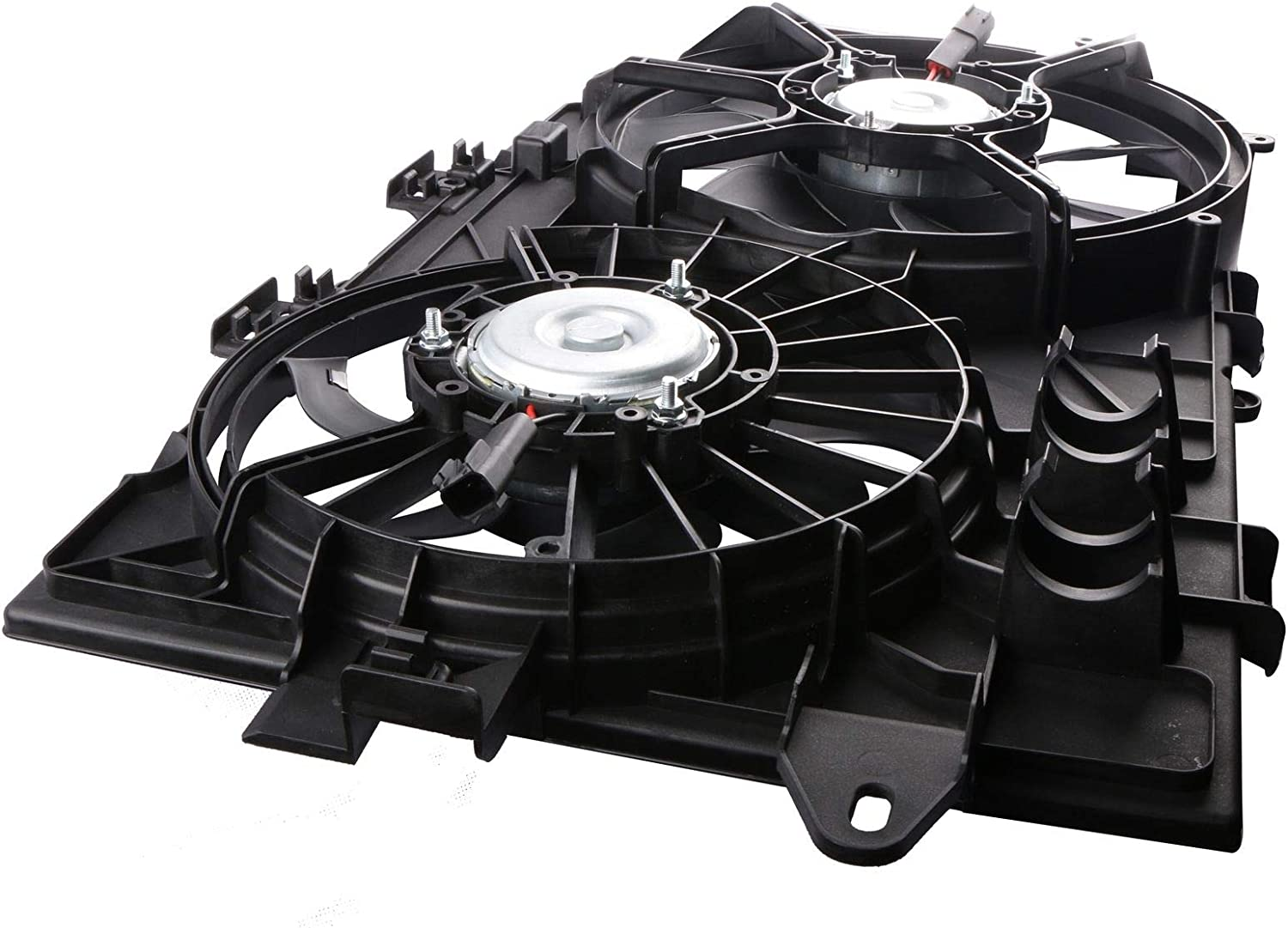 DUAL COOLING FAN ASSEMBLY GM3115204 Fit 2006-2008 CHEVY EQUINOX TORRENT 3.4L V6