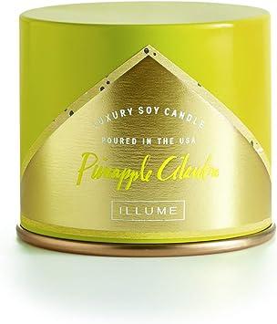 1 Each ILLUME Candle Pineapple Cilantro Demi Boxed Glass