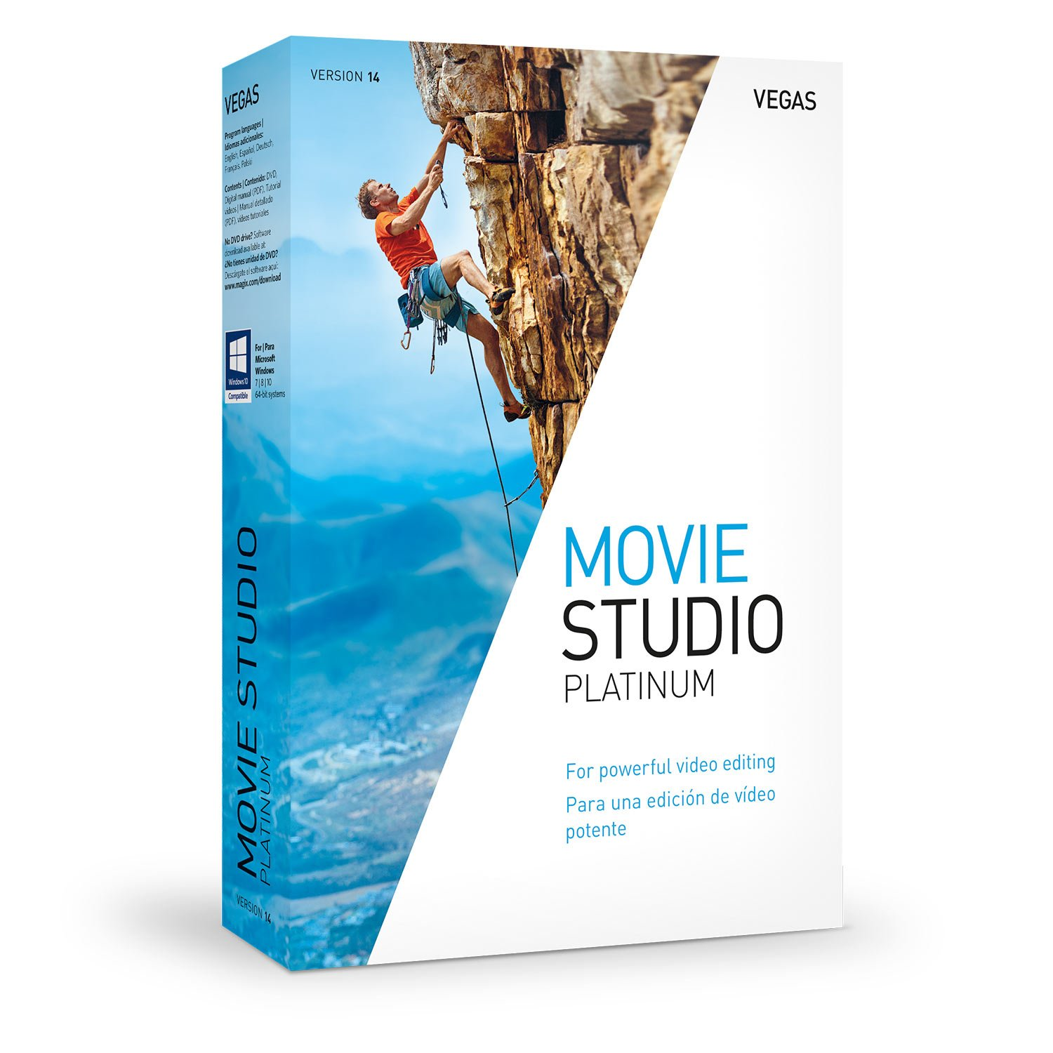 VEGAS Movie Studio 14 Platinum - Perfect support for creative video editing by Vegas