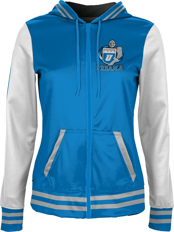 Letterman School Spirit Sweatshirt ProSphere Urbana University Girls Zipper Hoodie