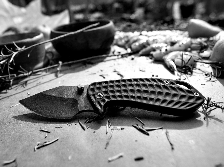 Gerber Kettlebell Compact Folding Knife - Grey [30-001496