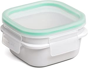 TATAY Opak Food Container with Click Clack, 0.3 L, White, One Size