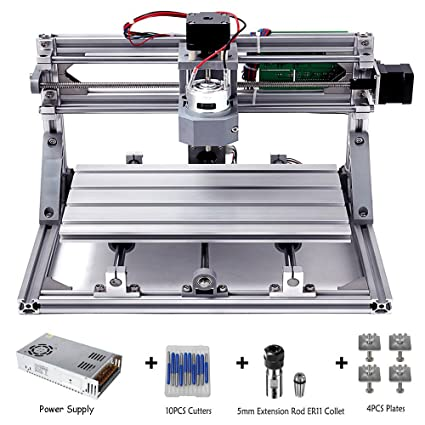 Diy Cnc Router Kits 3018 Grbl Control Wood Carving Milling Engraving Machine Working Area 30x18x4