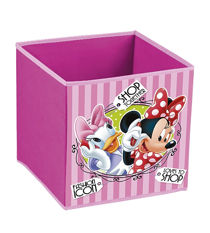 Disney Minnie Mouse–Poubelle Conteneur Panier à linge Garde jouets WD12126