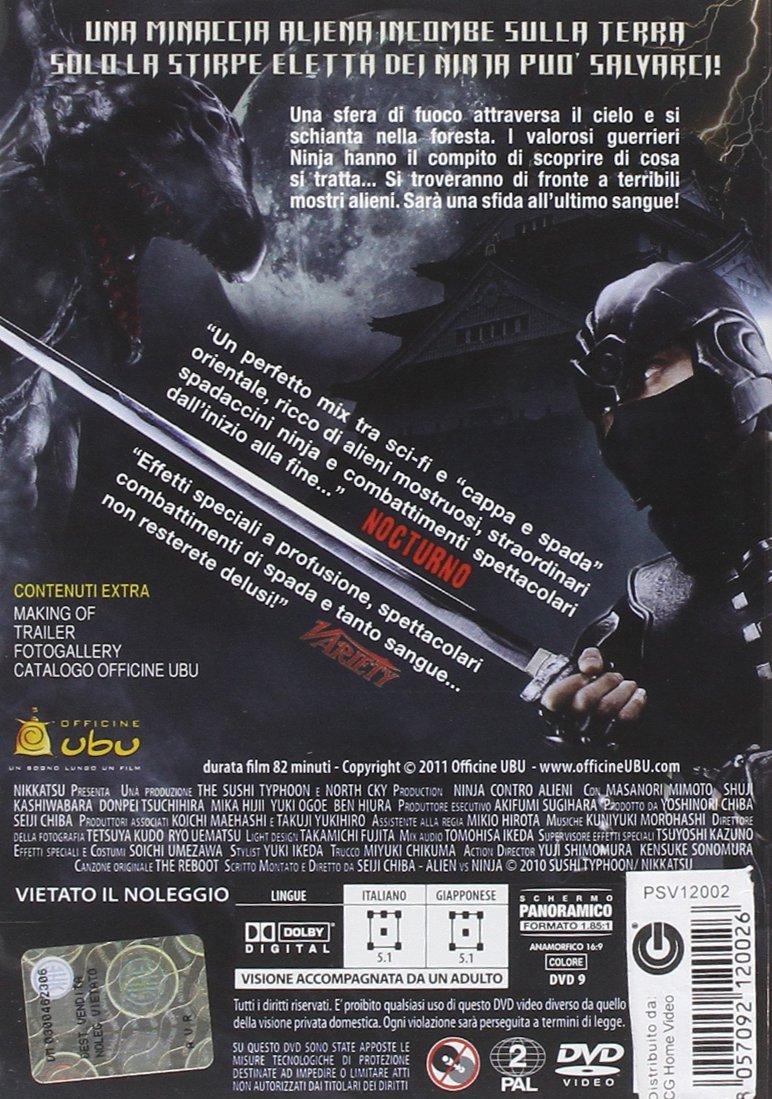 Amazon.com: Ninja Contro Alieni [Italian Edition]: Movies & TV