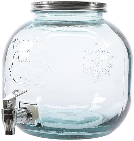 Compra Botella de cristal con grifo jugo de cristal del vidrio de ...