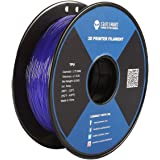 サインスマート、バイオレット 、フレキシブルTPU 3Dフィラメント、1.75 mm、0.8 kg、寸法精度±0.05 mm SainSmart Violet Flexible TPU 3D Printing Filament