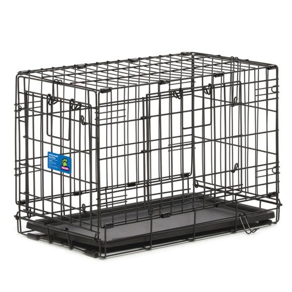 Amazon Top Paw Double Door Wire Dog Crate Size 22l X 13w X