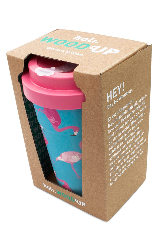 Holi Coffee To Go Bambus Becher Mit Schraubdeckel Verschluss